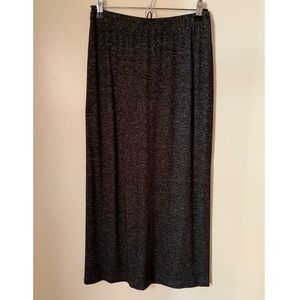 Alembika • 2 • Dark Heather Grey Maxi Skirt